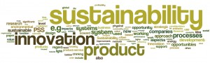 ThompsonLarssonBroman-TowardsSustTowardsSustainabilityDrivenInnovationThroughProductServiceSystems-2011-wordle
